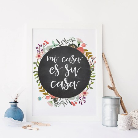 To Print In Spanish