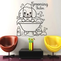 Wall Decals Dog Grooming Salon Decal Vinyl Sticker by ...