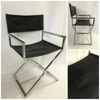 Vintage Mid Century Modern Chrome Chair Milo by TangerineFig