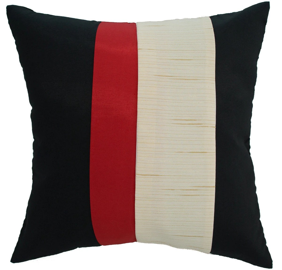Avarada 16x16 Striped Rainbow Throw Pillow Cover By