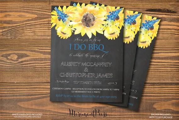 I Do BBQ Invitations For Weddings, Engagement Parties  Couples - i do bbq wedding invitations