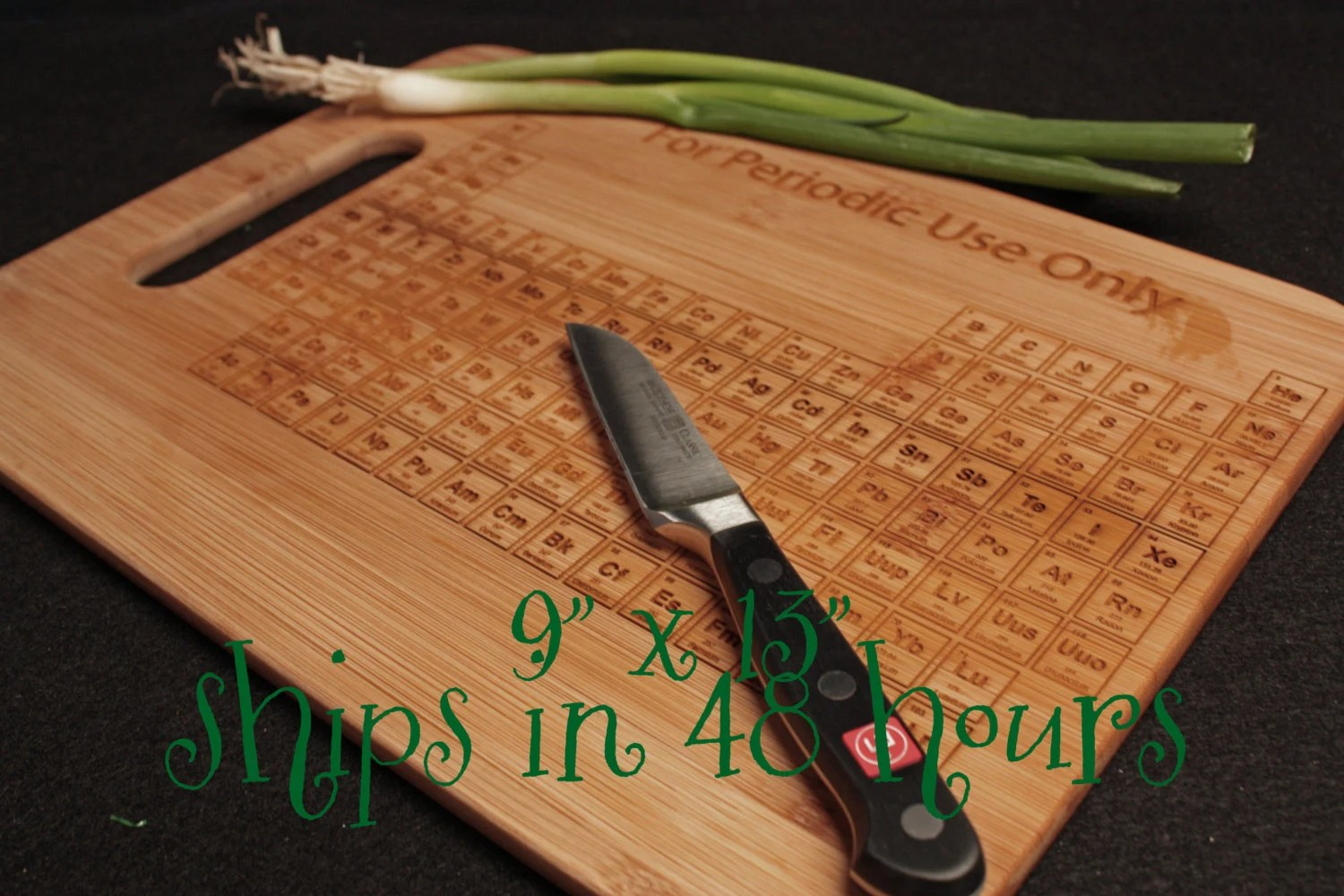 I Use This Cutting Board Periodically Periodic Table Cutting Board 9x13 Chemistry By Theengraverave