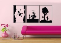 Alice in Wonderland Vinyl Wall Decals 3 Section by ...
