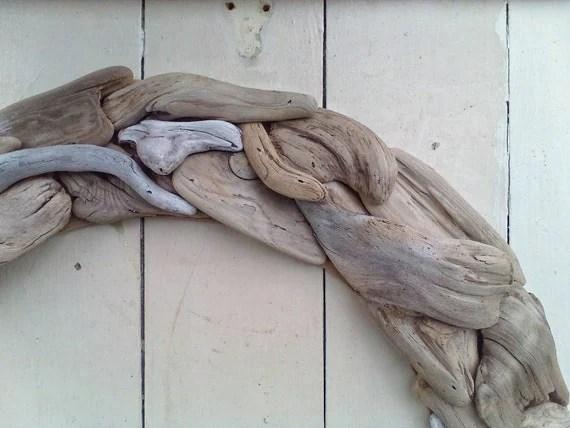 Driftwood Wreath, Driftwood, Wall Hanging, Driftwood Decor