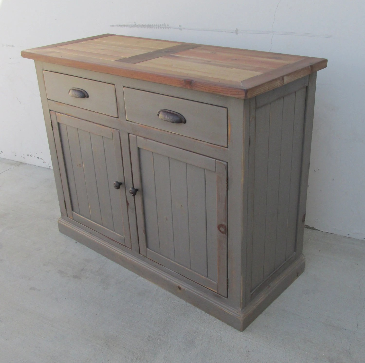 Sideboard Vitrine Sideboard Server Console Cabinet Reclaimed Wood Buffet
