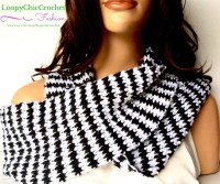 Houndstooth Infinity Scarf Houndstooth Scarf by ...