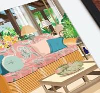 The Golden Girls Living Room The Golden by BeautifulPeaceShop