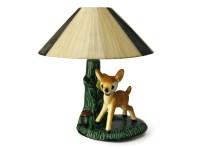 Ceramic Bambi Lamp Night Light. Woodland Deer Childrens