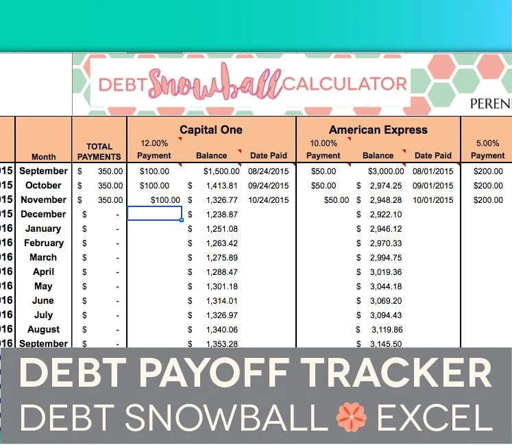 Credit Card Payoff Calculator Calculate Credit Card Payment Monthly Budget Spreadsheet Household Money Tracker Microsoft