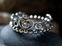 Authentic Pandora My Princess Ring S925 ALE 925 Sterling