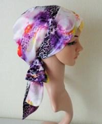 silk head scarves for natural hair silky tichel satin head ...