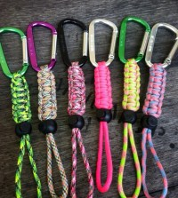 Survival Paracord Water Bottle Holders