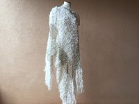 Ivory Wedding Wrap Wedding Accessories for 1920s Bridal or