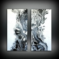 Abstract Art Original Painting Acrylic Painting Abstract ...