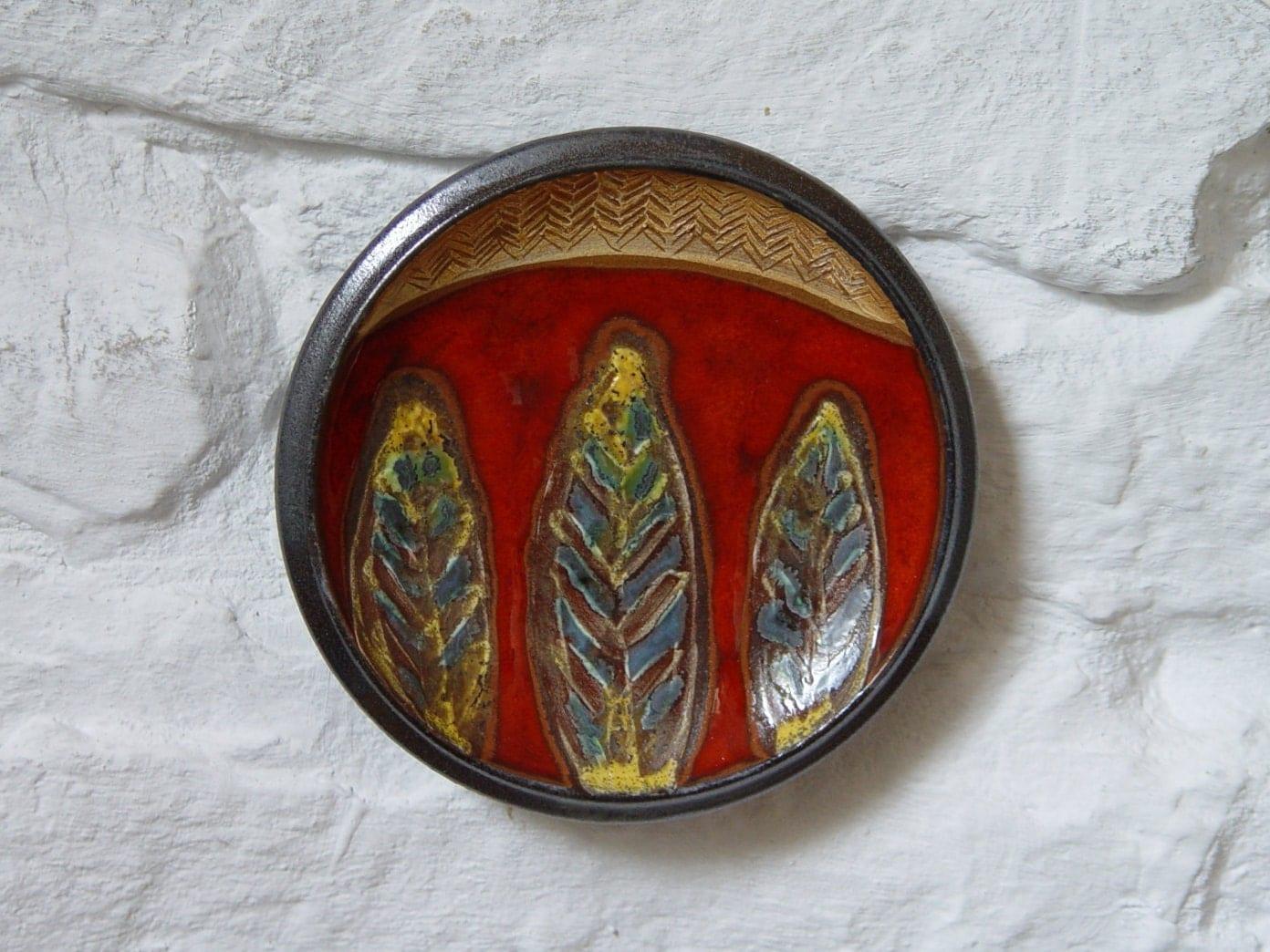 SaveEnlarge · Waechtersbach Red Ceramic ... & Red Ceramic Plates - Castrophotos
