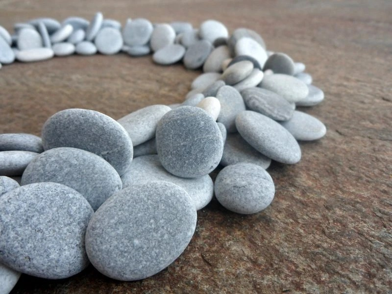 Bulk Jewelry To Sell 200 Beach Pebbles Flat Stones Beach Stones Bulk Craft