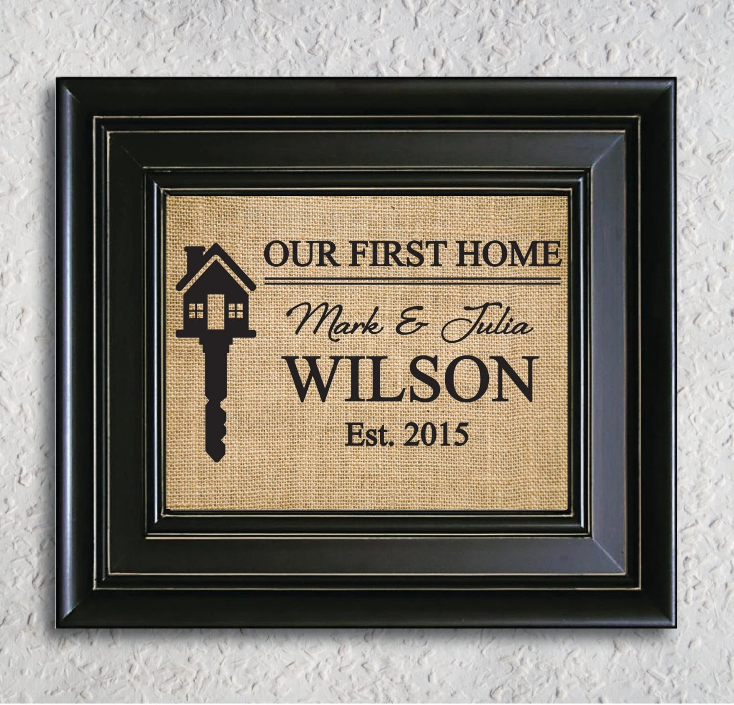 Personalized House Warming Gift Our First Home Personalized Housewarming Gift Our First Home