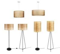 Wood Pendant Lamp Veneer Modern Lamp Natural Ash Shade