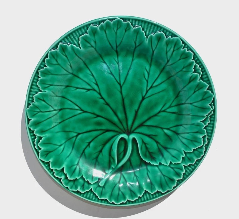 Antique Wedgwood Majolica Plate English By Maimiesmerchantile