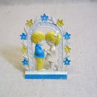 Love is Sharing Vintage Pierced Earring Holder