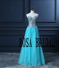 Teal homecoming dress quinceanera dress sweet 16 by rosabridal