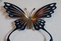 Hand-made Metal Butterfly,Wall Art,Home Decor,Garden ...