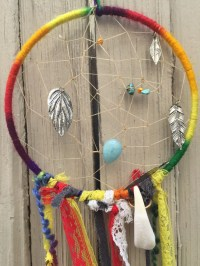 Colorful Dream Catcher // Boho Wall Art // Gay by LoveItShop