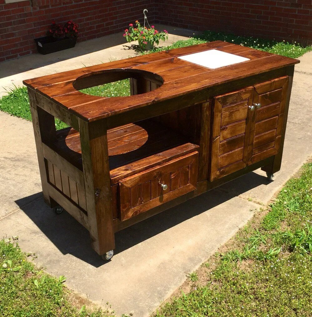 Big Green Egg Table Grill Table