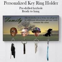 Personalized Key Hanger Key Holder Wall Key Rack Wall Key
