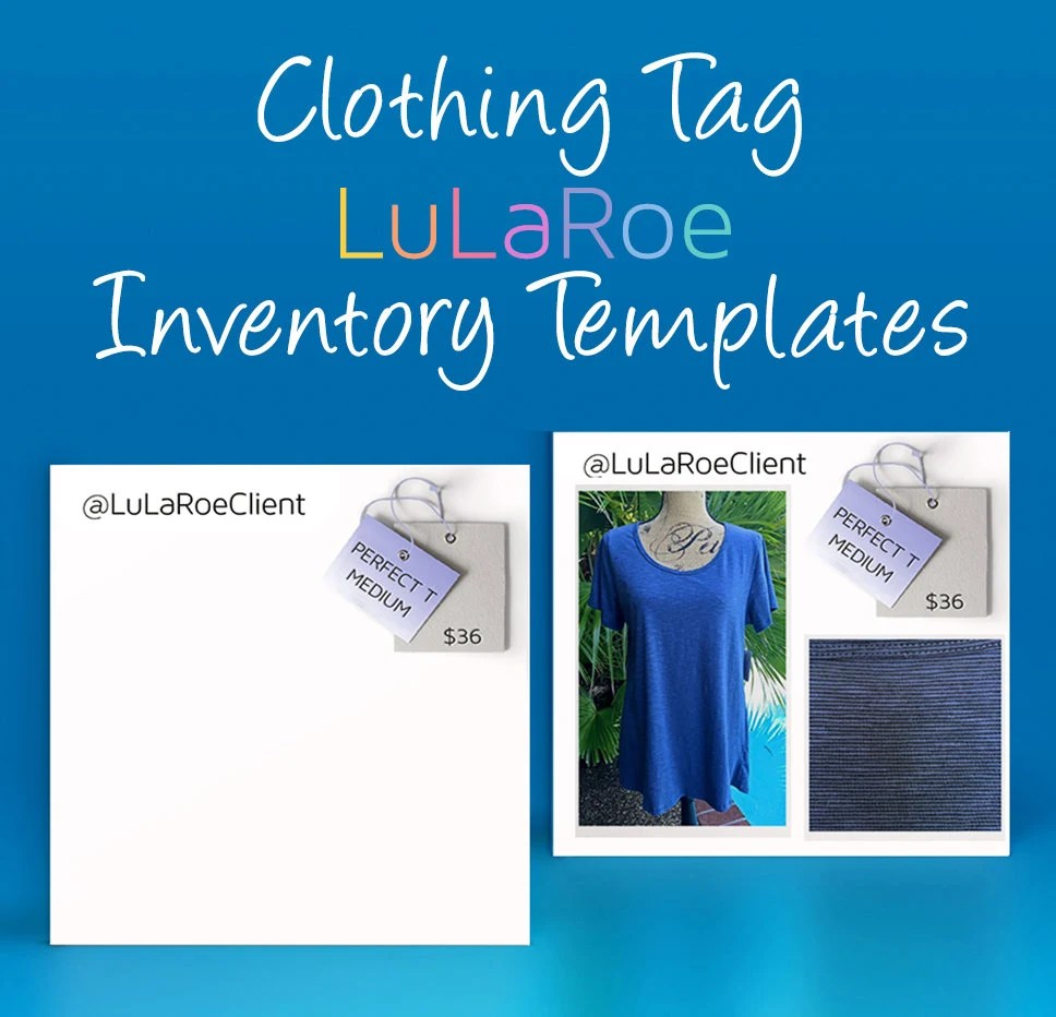 LuLaRoe Inventory Templates LenettesSister Pinterest - food inventory template