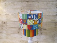 Lamp Shade Alphabet Drum Lampshade 2 Tier made by ...