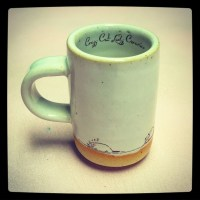 Doodle Cats espresso cup by crazycatladyceramics on Etsy