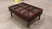 wood shadow box coffee table mahogany shadow by ...