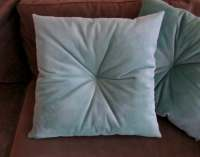 Tufted Velvet Pillow Velvet Throw Pillow Tufted Accent
