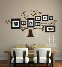 Family Tree Wall Decal Memory Tree Photo Tree Gallery Wall