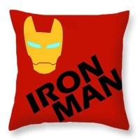 Iron Man Throw Pillow Marvel Comics Decorative Throw Pillow