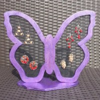Earring Holder Stand Girls Earring Holder Butterfly by