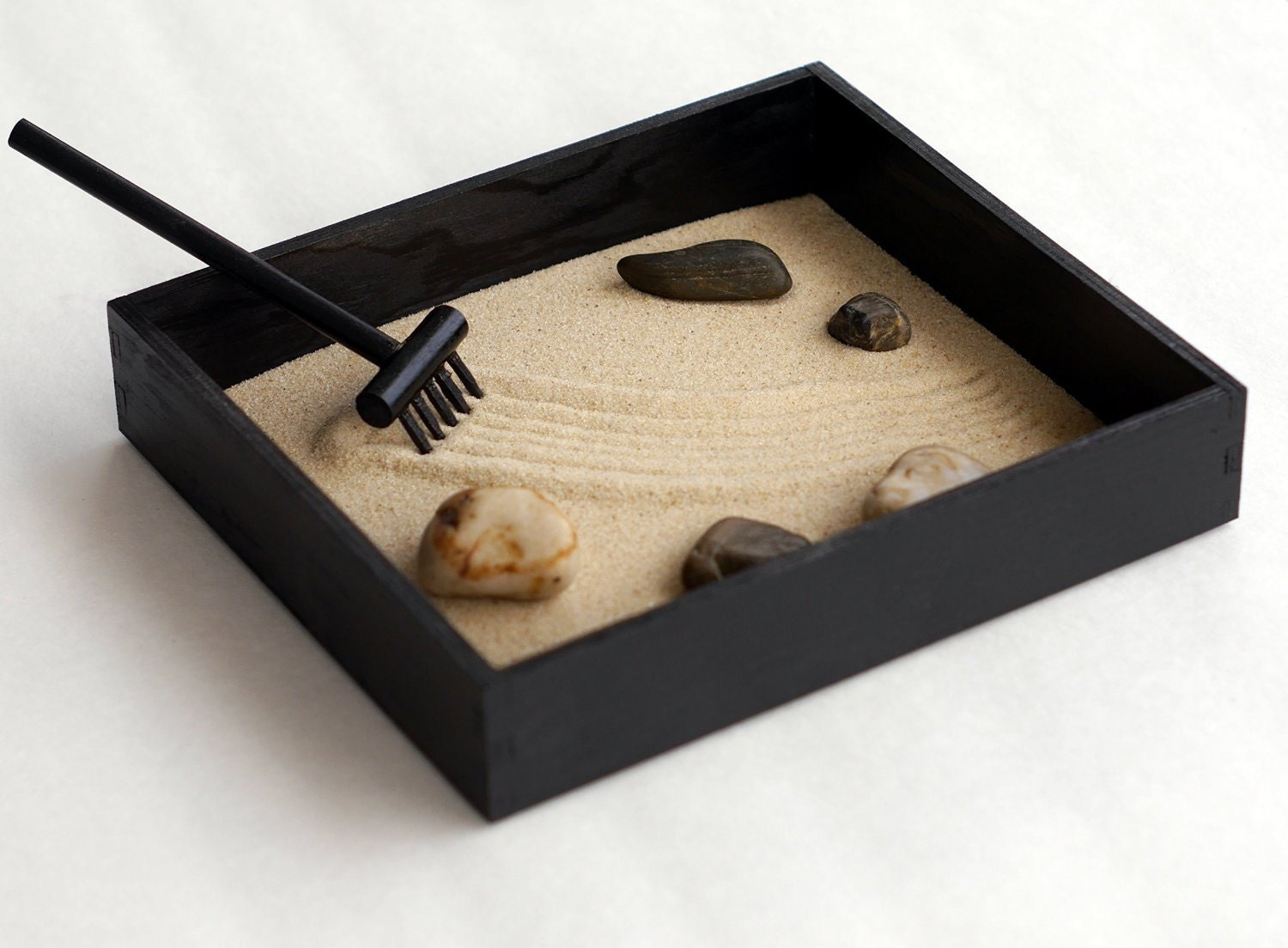 Office Zen Garden Zen Gifts Black Decor Mini Zen Garden Office Gifts For Boss