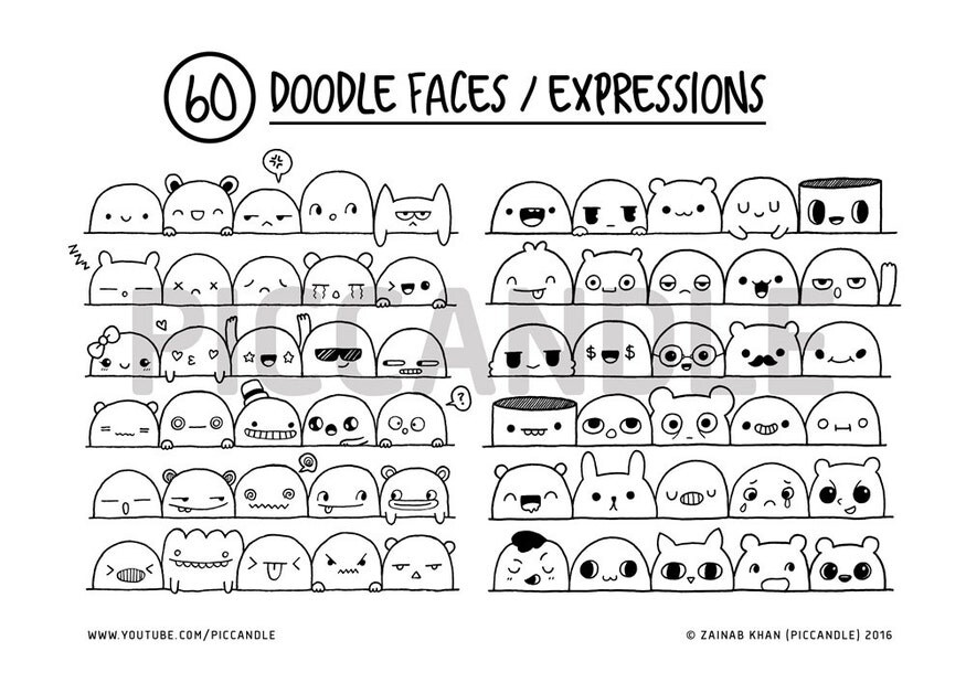 Image result for cute colorful doodle wallpaper Doodle - sticker chart