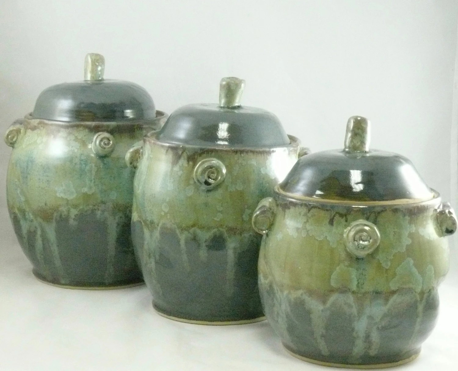 Ceramic Cookie Jar Sets Large Kitchen Ceramic Canisters Set Cookie Jar Coffee