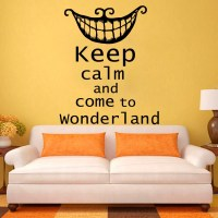 Alice in Wonderland Quote Wall Decals Stickers Decal by ...