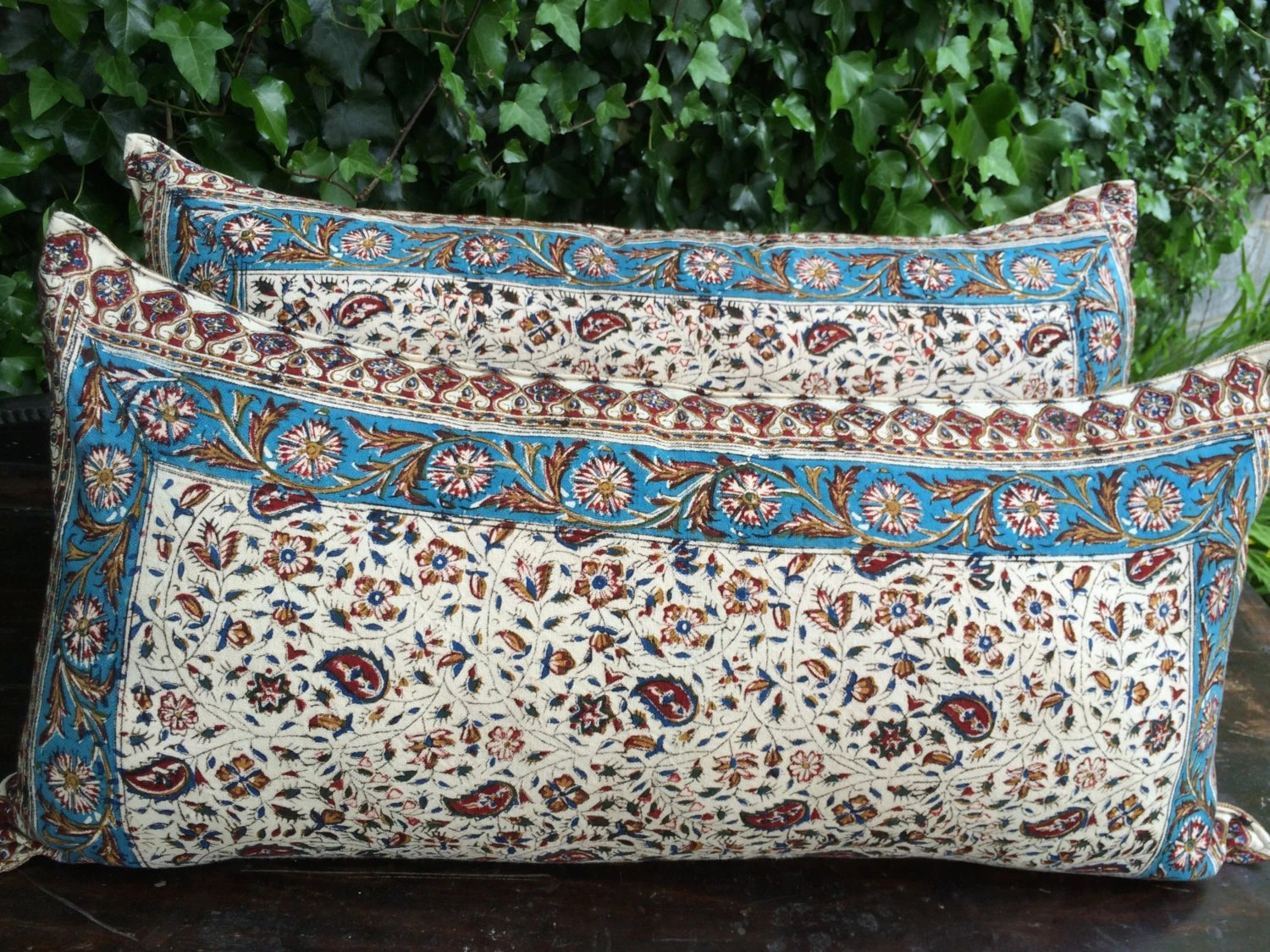 Traditional Gifts For New Homeowners Set Of Traditional Lumbar Pillow Cover Floral Design 15x30