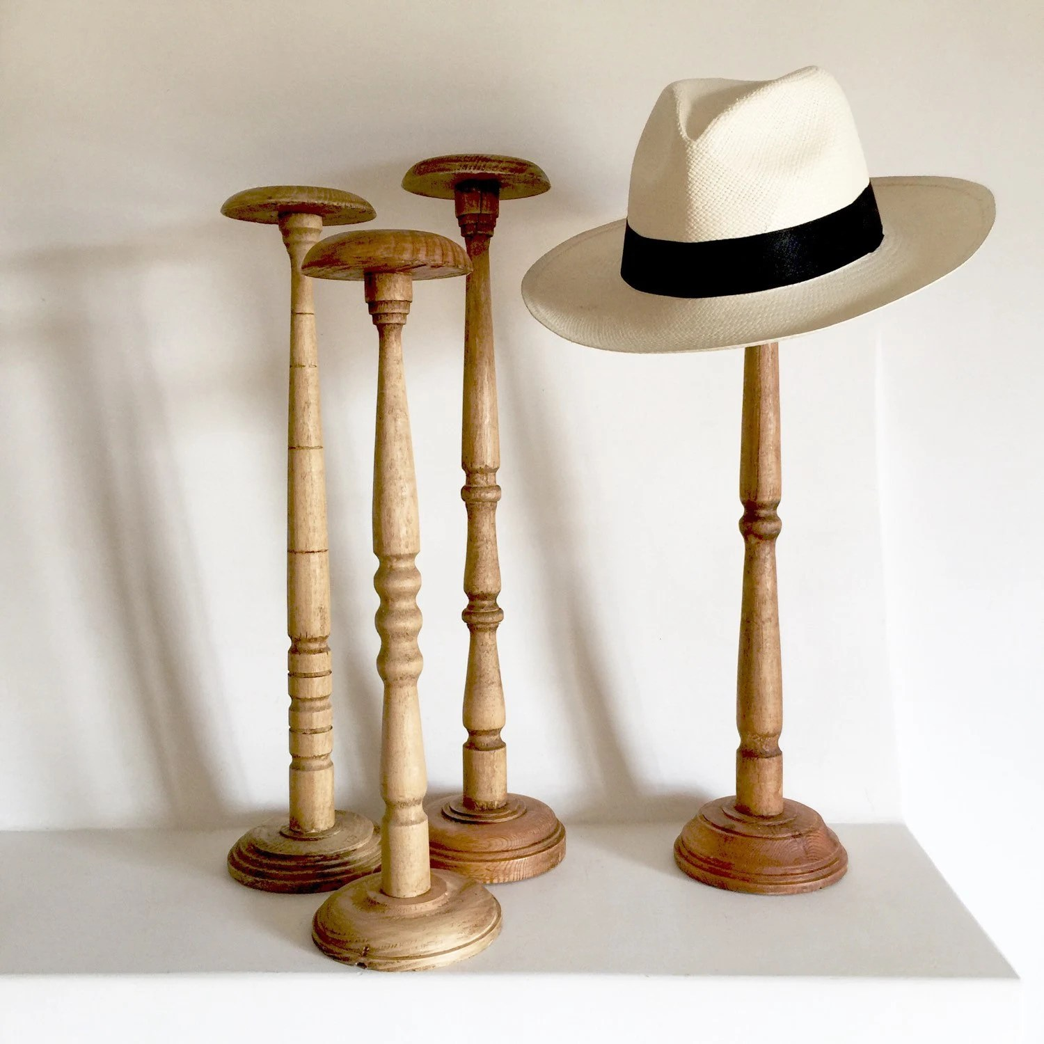 Hat Stand French Antique Wood Hat Stand Extra Tall Hat By Lavieenpastis