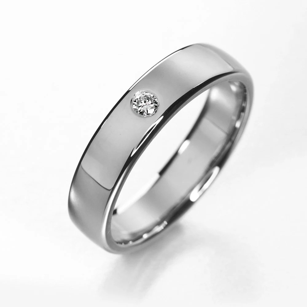 modern wedding band simple wedding bands Titanium engagement ring simple titanium diamond wedding ring modern wedding band minimalistic diamond ring simple solitaire ring