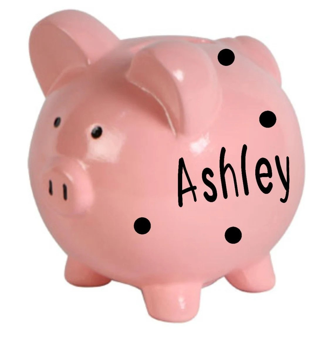 Piggy Banks For Little Boys Personalized Piggy Bank Ceramic Piggy Bank Piggy Bank Boy