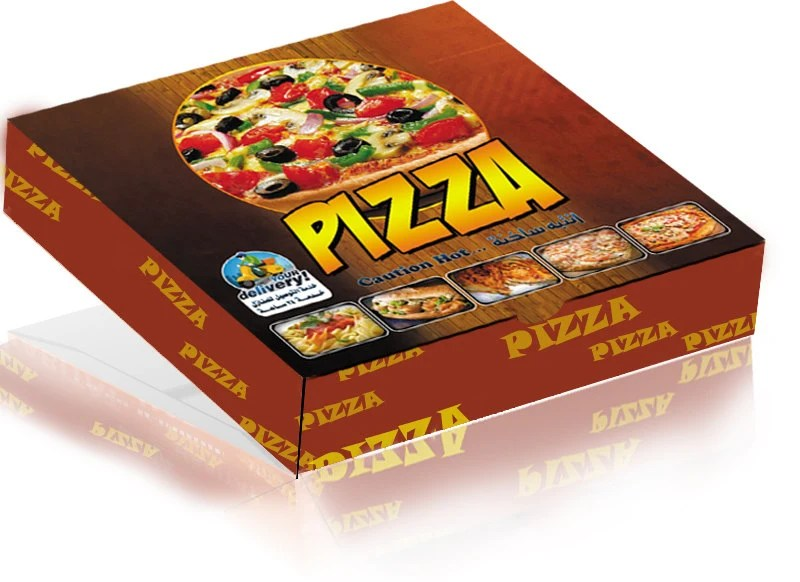Pizza Box Labels
