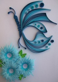 Home Decor Paper Wall Art Home Decoration Quilled Paper