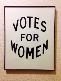 Feminist Wall Art Print: Historical Votes for by ...