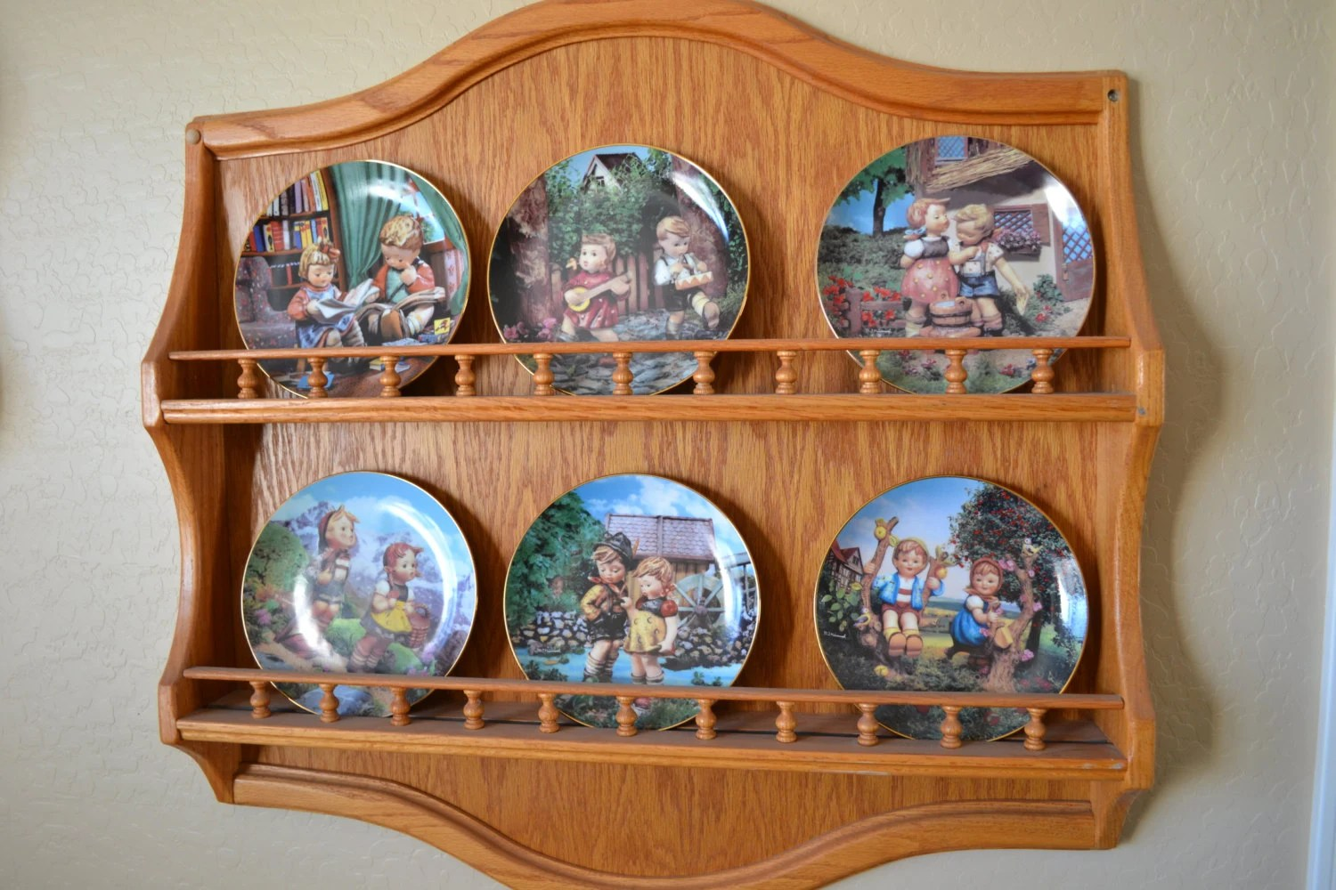 Decorative Plate Rack For Wall Lovequilts