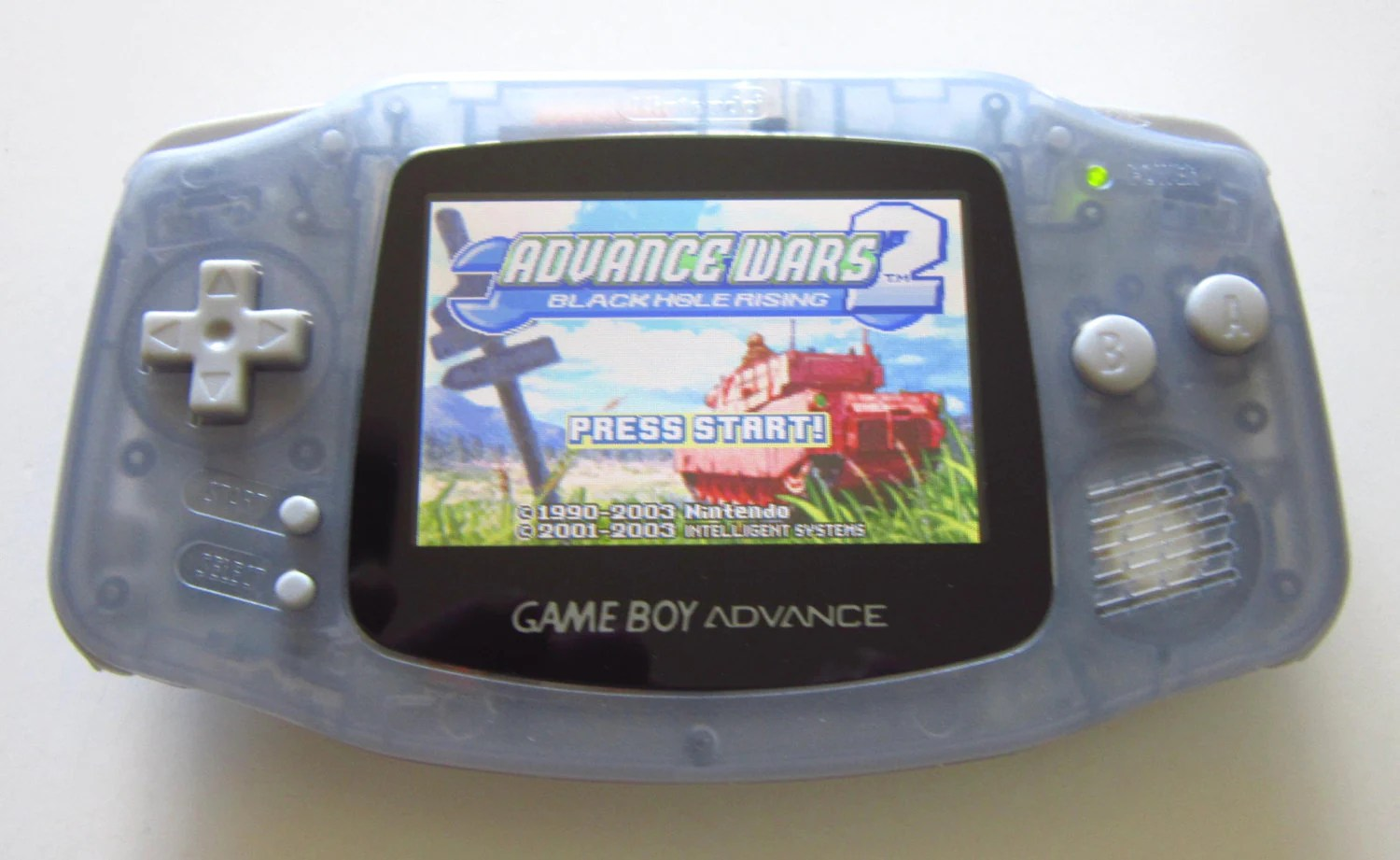 Gameboy Advance Display Beleuchtung Gameboy Advance With Ags 101 Brighter Screen Backlit Glacier